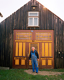 AUSTRIA, Monchof, the creator and owner of the Dorf Museum, Josef Haubenwallner, Burgenland