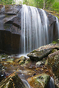 Cascade on Porcupine Brook, a tributary of Lost River, in New Hampshire's Kinsman Notch in the White Mountains during the spring months.