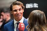 Rafa Nadal attends to photocall of 50th anniversary sport newspaper As in Madrid, Spain. December 04, 2017. (ALTERPHOTOS/Borja B.Hojas)