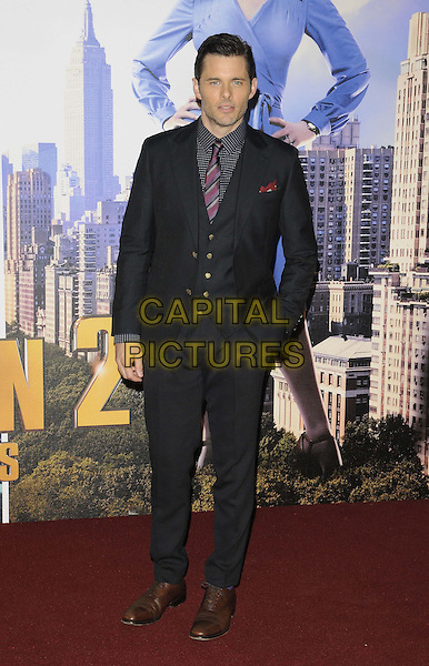 LONDON, ENGLAND - DECEMBER 11: James Marsden attend the &quot;Anchorman 2: The Legend Continues&quot; UK film premiere, Vue West End cinema, Leicester Square, on Wednesday December 11th, 2013 in London, England, UK.<br /> CAP/CAN<br /> &copy;Can Nguyen/Capital Pictures