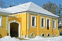 "The winery and office of The Royal Tokaji Company RTWC in Mad.. The RTWC in was one of the first Tokaj wineries to be ""revived"" by an injection of foreign capital. It makes wine in a traditional style. Credit Per Karlsson BKWine.com"