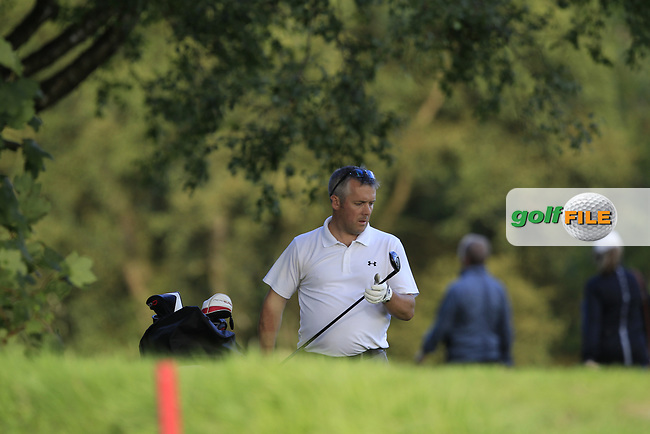 Nick Kane (Cairndhu) during the final of the AIG Jimmy Bruen Ulster Final at Dungannon Golf Club, Dungannon, Tyrone, Ireland. 11/08/2017<br /> Picture: Fran Caffrey / Golffile
