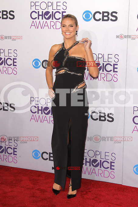 LOS ANGELES, CA - JANUARY 09: Heidi Klum at the 39th Annual People's Choice Awards at Nokia Theatre L.A. Live on January 9, 2013 in Los Angeles, California. Credit: mpi21/MediaPunch Inc. /NORTEPHOTO