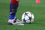 11.03.2015 Barcelona.UEFA champions League. Rounf 0f 16 2nd leg. Picture show Leo's Messi shoes durring game between FC Barcelona against Manchester city at Camp Nou