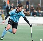 WASSENAAR - Hoofdklasse hockey heren, HGC-Bloemendaal (0-5)  . Willem Rath (HGC)   COPYRIGHT KOEN SUYK