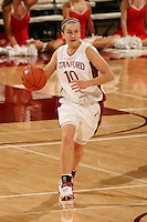 9 November 2006: JJ Hones during Stanford's 88-61 win in the first round of the preseason Women's National Invitation Tournament against Loyola Marymount at Maples Pavilion in Stanford, CA.