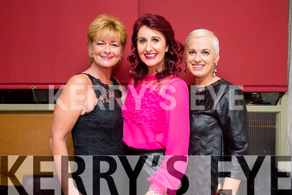 Olivia Wall, Ann Kahraman and Orlath Winters on a girls night in Cassidy's, Tralee on Saturday