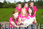 SILENCE PLEASE: Strong willed students from Mercy Mounthawk are staying silent for 111 hours this week as part of their YSI Whay Silence the Scream' project. From front l-r were: Mairead Leen, Laura Fitzgerald and Ciara Finnerty. Back l-r were: Jonathan Ryan, James Culloty and Donnchadh MacGarry.