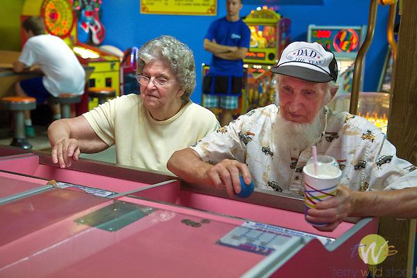 Knoebel's Amusement Resort, Elysburg, Pennsylvania. Playland skee ball