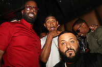 LOS ANGELES, CA - JUNE 26: Mark Pitts, Usher and DJ Khaled at the Mark Pitts & Bystorm Entertainment post 2016 BET Awards Celebration at Bootsy Bellows in Los Angeles, California on June 26, 2016. Credit: Walik Goshorn/MediaPunch