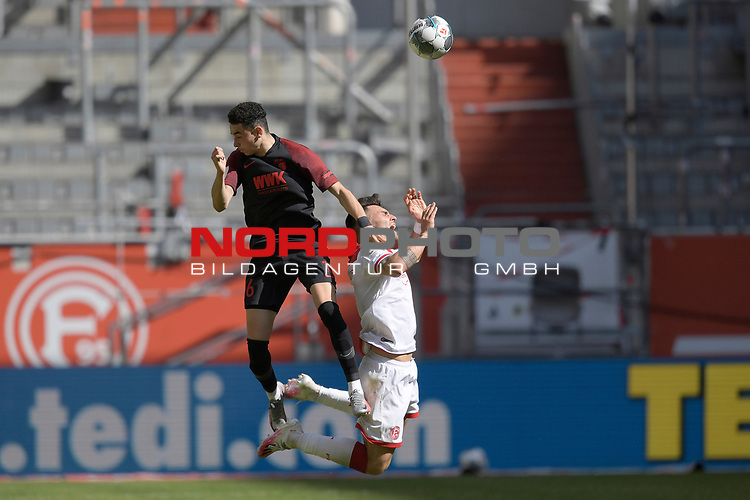 Ruben VARGAS  (FC Augsburg),<br />Aktion,Zweikampf.<br /><br />Fussball 1. Bundesliga, 33.Spieltag, Fortuna Duesseldorf (D) -  FC Augsburg (A), am 20.06.2020 in Duesseldorf/ Deutschland. <br /><br />Foto: AnkeWaelischmiller/Sven Simon/ Pool/ via Meuter/Nordphoto<br /><br /># Editorial use only #<br /># DFL regulations prohibit any use of photographs as image sequences and/or quasi-video #<br /># National and international news- agencies out #