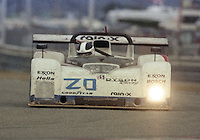 The #20 Ford Riley & Scott Mk III of James Weaver, Rob Dyson, Andy Wallace and Butch Leitzinger races to a 20th place finish in the 24 Hours of Daytona, IMSA race, Daytona International Speedway, Daytona Beach , FL, February 4, 1996.  (Photo by Brian Cleary/www.bcpix.com)