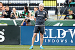 20 June 2015: Houston assistant coach Paul Caffrey. The Portland Timbers FC hosted the Houston Dynamo at Providence Park in Portland, Oregon in a Major League Soccer 2015 regular season match. Portland won the game 2-0.