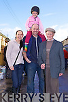 The Roche family, Brenda, Joe Clodagh and Tom from Newmarket, Co. Cork enjoying the Annual Horse and Pony fair in Athea last Saturday morning.