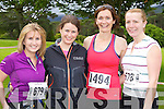 Roisin Griffin Currow, Eva McCaul Currow, Deloras O'Sullivan Ballyduff and Jean Leahy Abbeyfeale at the Killarney Run Maxi marathon in Killarney on Saturday..