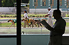 Greyhound racing at tghe Naples-Ft. Myers Greyhound Trsck in Bonita Springs. Erik Kellar/Staff