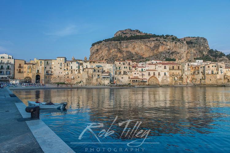 Europe, Italy, Sicily, Cefalu, Cefalu Waterfront