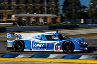 #19 Baker Racing, Ligier JS P3, LMP3: Brad Baker (M)
