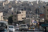 JORDAN, Amman, traffic / JORDANIEN, Amman, Strassenverkehr