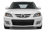 Straight front view of a 2008 Mazda Speed 3