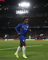 Chelsea's Willian<br /> <br /> Photographer Rob Newell/CameraSport<br /> <br /> UEFA Europa League Group L - Chelsea v FC BATE Borisov - Thursday 25th October - Stamford Bridge - London<br />  <br /> World Copyright © 2018 CameraSport. All rights reserved. 43 Linden Ave. Countesthorpe. Leicester. England. LE8 5PG - Tel: +44 (0) 116 277 4147 - admin@camerasport.com - www.camerasport.com