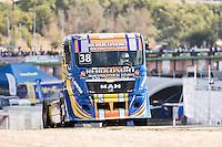 Portuguese driver Jose Eduardo Rodrigues belonging Portuguese team Jose Eduardo Rodrigues during the fist race R1 of the XXX Spain GP Camion of the FIA European Truck Racing Championship 2016 in Madrid. October 01, 2016. (ALTERPHOTOS/Rodrigo Jimenez) /NortePHOTO /NORTEPHOTO.COM