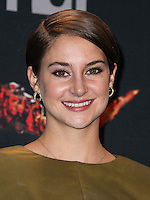 LOS ANGELES, CA, USA - APRIL 13: Shailene Woodley in the press room at the 2014 MTV Movie Awards held at Nokia Theatre L.A. Live on April 13, 2014 in Los Angeles, California, United States. (Photo by Xavier Collin/Celebrity Monitor)