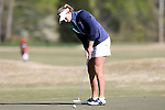 17 April 2016: Notre Dame's Talia Campbell. The Second Round of the Atlantic Coast Conference's Women's Golf Championship was held at Sedgefield Country Club in Greensboro, North Carolina.