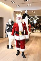 2016-12-15 Saks Fur Shop Santa