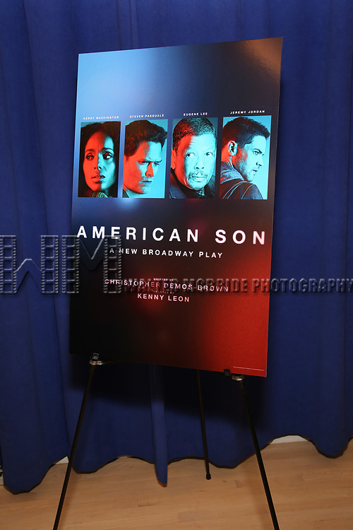 "The Cast photo call for the New Broadway Play ""American Son"" on September 14, 2018 at the New 42nd Street Studios in New York City."