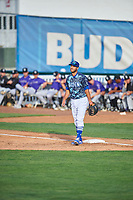 Justin Yurchak (33) of the Ogden Raptors during the game against the Grand Junction Rockies at Lindquist Field on June 14, 2019 in Ogden, Utah. The Raptors defeated the Rockies 12-0. (Stephen Smith/Four Seam Images)