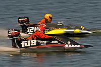 Logan Sweeney, 1-US and Grant Hearn (12-H) (hydro)