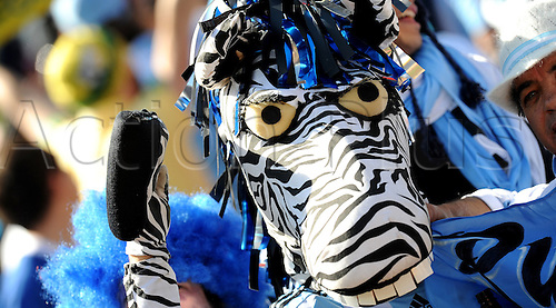 Fan of Argentina attends the FIFA World Cup 2010 soccer match between Argentina and South Korea at the Soccer City Stadium on June 17, 2010 in Johannesburg, South Africa.