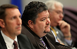 Nevada Assemblyman Richard Carrillo, D-Las Vegas, works in committee at the Legislature in Carson City, Nev. on Wednesday, March 2, 2011..Photo by Cathleen Allison