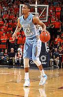 North Carolina forward J.P. Tokoto (13) during an NCAA basketball game Monday Jan. 20, 2014 in Charlottesville, VA. Virginia defeated North Carolina 76-61.