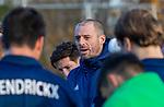 AMSTELVEEN - coach Jesse Mahieu (Pinoke)  tijdens de competitie hoofdklasse hockeywedstrijd heren, Pinoke-Amsterdam (1-1)   COPYRIGHT KOEN SUYK