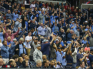 Washington, DC - March 10, 2018: Rhode Island Rams fans during the Atlantic 10 semi final game between Saint Joseph's and Rhode Island at  Capital One Arena in Washington, DC.   (Photo by Elliott Brown/Media Images International)