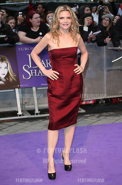 Michelle Pfeiffer arriving for the European Premiere of 'Dark Shadows' at Empire Leicester Square, London. 09/05/2012 Picture by: Alexandra Glen / Featureflash