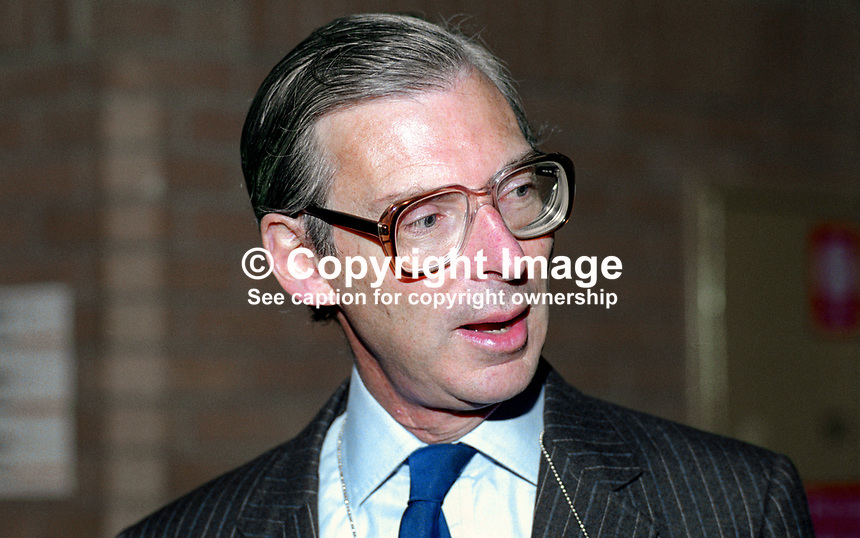 Tim Sainsbury, MP, politician, Conservative Party, UK, 19901056TS.<br /> <br /> Copyright Image from Victor Patterson, 54 Dorchester Park, <br /> Belfast, UK, BT9 6RJ<br /> <br /> t1: +44 28 9066 1296 (from Rep of Ireland 048 9066 1296)<br /> t2: +44 28 9002 2446 (from Rep of Ireland 048 9002 2446)<br /> m: +44 7802 353836<br /> <br /> e1: victorpatterson@me.com<br /> e2: victorpatterson@gmail.com<br /> <br /> www.victorpatterson.com<br /> <br /> Please see my Terms and Conditions of Use at www.victorpatterson.com. It is IMPORTANT that you familiarise yourself with them.<br /> <br /> Images used on the Internet must be visibly watermarked i.e. &copy; Victor Patterson within the body of the image and copyright metadata must not be deleted. Images used on the Internet have a size restriction of 4kbs and will be chargeable at current NUJ rates unless agreed otherwise.<br /> <br /> This image is only available for the use of the download recipient i.e. television station, newspaper, magazine, book publisher, etc, and must not be passed on to any third party. It is also downloaded on condition that each and every usage is notified within 7 days to victorpatterson@me.com<br /> <br /> The right of Victor Patterson to be identified as the author is asserted in accordance with The Copyright Designs And Patents Act (1988).