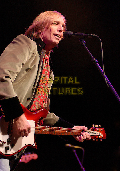 TOM PETTY of the band TOM PETTY & THE HEARTBREAKERS .Live in Concert during  a tour stop at the Post-Gazette Pavilion, Pittsburgh, PA, USA, June 15, 2005..half length guitar gig.Ref: ADM.www.capitalpictures.com.sales@capitalpictures.com.©Jason Nelson/AdMedia/Capital Pictures.