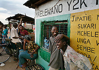 Photos in downtown Robanda.  This is the town that Grumeti wants to move.  It is also the town that FZS says will interfere with the migration as it grows.  Ft. Ikoma (all SNP employees) seems a greater threat to the migration.  Before Grumeti took over their reserves and Ikorongo, local people were allowed to hunt a quota.  Now they can hunt nothing and cow meet is 1500TZ per pound.  Noone can afford that.  The town and Grumeti have growing tensions, that if left unchecked will lead to violence.