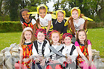 SHOW TIME: Launching the Disney junior show by Brian Carr school of performing arts to held at Siamsa Tire on 30th of April and the 1st of May at 8pm front l-r: Damn McLarnon, Katie Ellen Hobbert, Grainne Clifford, Ella O'Donoghue and Eva McCann. Back l-r: Jada Lynch-Clarke, Miriam Joben, Molly Frahell and Danielle Griffin.