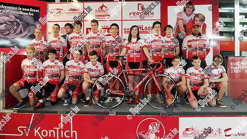 2013-01-27 / Wielrennen / seizoen 2013 / Steeds vooraan Kontich 2013 / Nieuwelingen..Foto: Mpics.be
