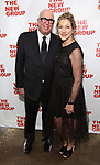 Serge Nivelle and Edie Falco during the New Group Annual Gala at Tribeca Rooftop on March 11, 2019 in New York City.