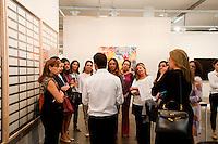 SAO PAULO, SP, 01.04.2015 - Aberta para visitação a Feira SP-Arte 2015 com exposição e vendas de obras de arte de diversos artistas até o dia 12 no Pavilhão Ciccilio Matarazzo, no Parque Ibirapuera no inicio da tarde dessa quinta 09. ( Gabriel Soares/ Brazil Photo Press)