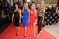Real Housewives of Cheshire<br /> arriving for TRIC Awards 2018 at the Grosvenor House Hotel, London<br /> <br /> &copy;Ash Knotek  D3388  13/03/2018