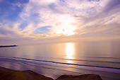 Stock photo of Sunset La Jolla California