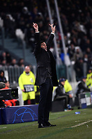 Marcelino (Valencia CF) reacts during the Uefa Champions League 2018/2019 Group H football match between Juventus and Valencia at Juventus stadium, Torino, November 27, 2018 <br />  Foto Federico Tardito/ OnePlusNine / Insidefoto