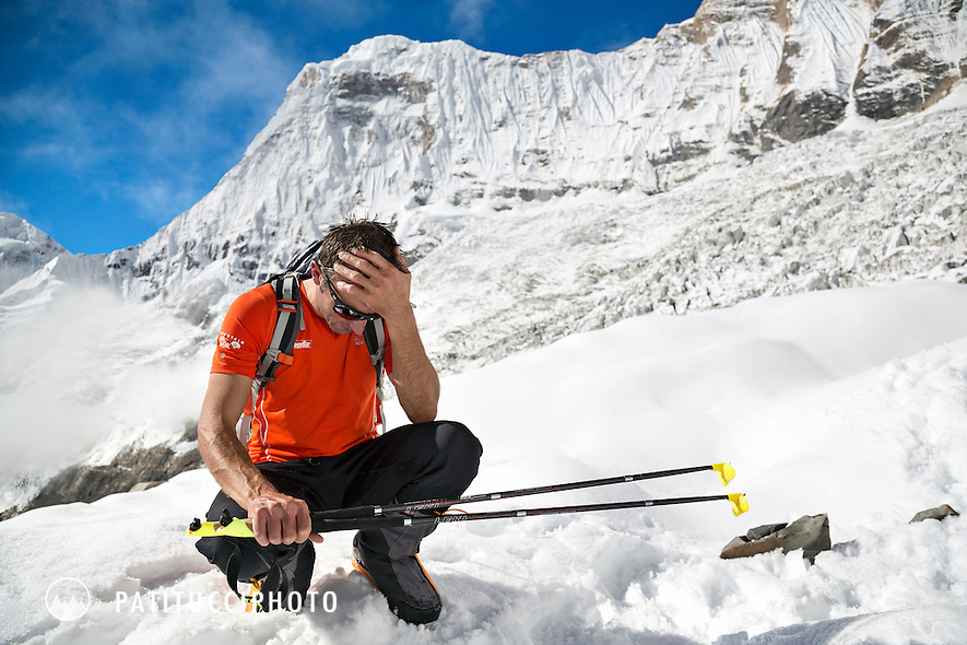 Ueli Steck returned to Nepal and the Annapurna south face in 2013 which he climbed solo, without oxygen, in one 28 hour alpine push, via a new route. The trip was his third attempt to climb the 8000 meter peak.