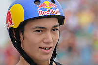 19 August, 2012:  Alex Sorgente competes in the Skateboard Bowl Finals at the Pantech Beach Championships in Ocean City, Md.